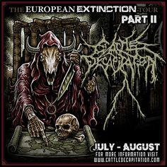 CATTLE DECAPITATION announce the 'European Extinction Tour 2016' part II! | Metal Blade Records