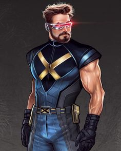 Scott Summers by Lucas Werneck Hq Marvel, Marvel Comic Universe, Marvel Comics Art, Marvel Heroes, Superhero Characters, Comic Book Characters, Comic Character, Comic Books Art, X Men Evolution