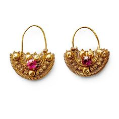 Image result for turkish pitcher  and cup earrings