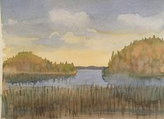 Watercolor My Arts, Watercolor, Painting, Pen And Wash, Watercolor Painting, Painting Art, Watercolour, Paintings, Painted Canvas