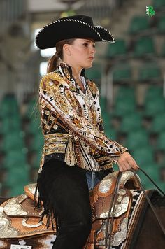 "Cathrin Gutmann at Bavarian Summer Show wearing ""Paid my Dues"" jacket by ""La Collezione di Anna"""