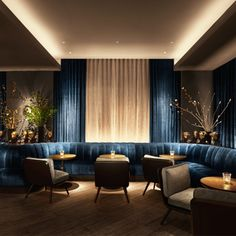11 Howard Hotel: Where Danish Minimalism Meets New York Realism - Nordic Design Lounge Design, Bar Lounge, Hotel Lounge, Banquette Restaurant, Deco Restaurant, Luxury Restaurant, Restaurant Interior Design, Lobby Interior, Soho Hotel