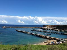 Port of Baleeira in Sagres - lovely little harbour with small boats.