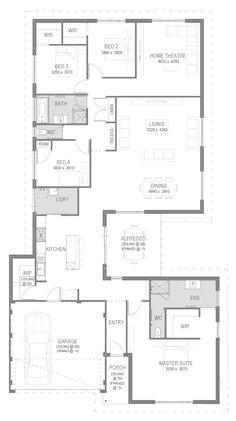 The Harlington Floorplan by GO Homes