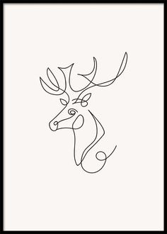 In our poster category Illustrations, you will find our carefully curated selection of designs in different styles - find beautiful illustrations in both a classic and minimalist black & white style, mixed in with vibrant art illustrations. Deer Drawing, Nature Drawing, Line Art Design, Hirsch Silhouette, One Line Animals, Gold Poster, Line Artwork, Single Line Drawing, Tatoo