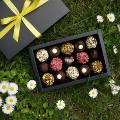 Vegan Chocolate by Witerki Artisan Chocolate, Chocolate Box, How To Make Chocolate, Vegan Chocolate Truffles, Vegan Truffles, Handmade Chocolates, Vegan Beauty, Vegan Life, Macarons