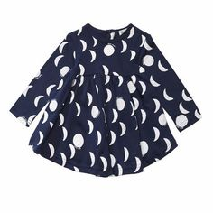Beau Loves - moons baby long-sleeved dress