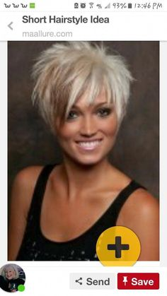 20 latest short hairstyles that will make you say WOW Short Punk Hair, Shaggy Short Hair, Funky Short Hair, Short Hair With Layers, Short Hair Cuts For Women, Short Hair Styles, Latest Short Hairstyles, Cute Hairstyles For Short Hair, Short Cropped Hairstyles