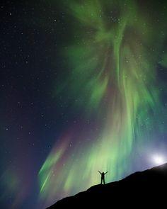 By Arnar kristjansson under the Aurora crown