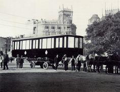 Primer tren del metro de Alfonso XIII
