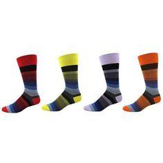 Men's Thin Stripe Socks