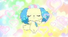 Jewelpet - Blue dog