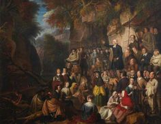 Covenanters in a Glen by Alexander Carse  The University of Edinburgh Fine Art Collection Date painted: c.1800 Oil on canvas, 69 x 89.5 cm
