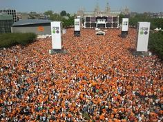 Queen's Day, Amsterdam, Netherlands: 30 April 2013