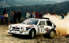 Lancia Delta S4 rally car - Group B