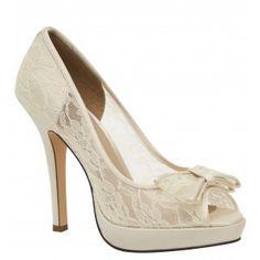 Brianna Leigh Queen Wedding Shoes