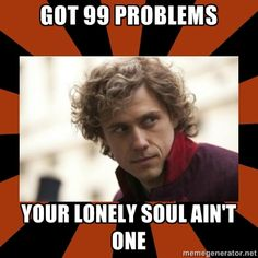 "Enjolras is the bomb. =P ""Who cares about your lonely soul?"""