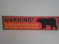 BIG BEAR TIN SIGN - WARNING Ohio Wholesale http://www.amazon.com/dp/B00FEO98VE/ref=cm_sw_r_pi_dp_HZT6ub0FHVESK