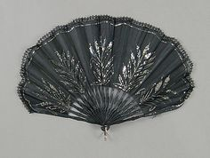 Fan Made Of Wood, Silk, Sequins, Metal And Synthetic - Possibly French c.1900-1915 The Metropolitan Museum Of Art