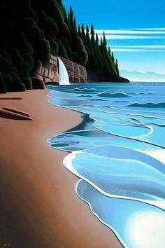 Mystic Beach - Canvas Print