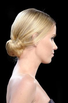 Runway Inspired Updo Ideas to Wear at Your Winter Formal