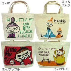 moomin bags!!