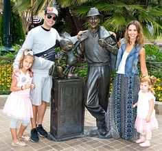 Jessica Alba and Cash Warren with Honor and Haven