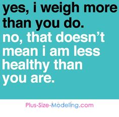 Stop equating weight and BMI with health...
