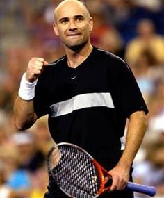 Andre Agassi  - one of my all time favorites!