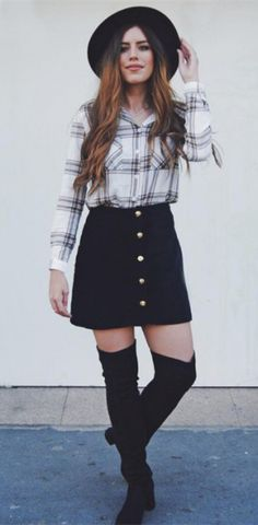 Noah Suede Mini Skirt - Black - Bottoms | Wearing it | Pinterest ...