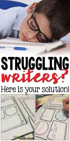 If you are looking for a way to motivate your struggling and reluctant writers, check out my blog post for one of my favorite solutions!
