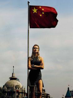 Steven Chee Lenses Sporty Style in Shanghai for Fashion Quarterly NZ