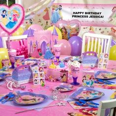 Disney Princess dreams birthday party theme