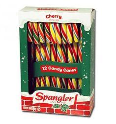 Découvrez avec My Little America les CANDY CANES cherry de Spangler. Ces Grands sucres d'orges américains aux couleurs de l'arc en ciel ont un délicieux goût de cerise. Les Américains les utilisent également pour décorer leurs sapins de Noël. Cette boite contient 12 GRANDS candy canes, pour encore plus de plaisir !