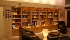 A built-in library with HEMNES and STORNAS - IKEA Hackers
