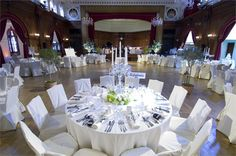 Elegant Wedding Breakfast At Porchester Hall A Banquet Venue Near London Greater
