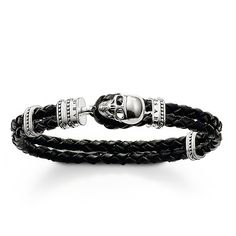 THOMAS SABO Sterling Silver Rebel at heart Bracelet Article number: LB37-008-11