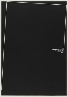 A. G. Fronzoni. Mostra Personale: Progettare Voce del Verbo Amare. 2001