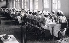 The Nurses' Mess - Dudley Road Hospital - 1949