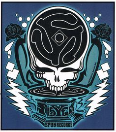 Grateful Dead Logo, Grateful Dead Image, Greatful Dead Tattoo, Dead And Company, Psychedelic Music, Outdoor Stickers, Face Stickers, Forever Grateful, Best Part Of Me