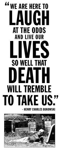 charles bukowski, 1920-1994 RIP