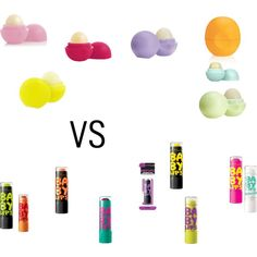 """eos vs baby lips""  its so hard to choose but I choose baby lips  it is my fav and this is Katelyn Neff who is saying this so people no WHAT I THINK"