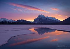 Majestic Mount Rundle by Kory Lidstrom on 500px