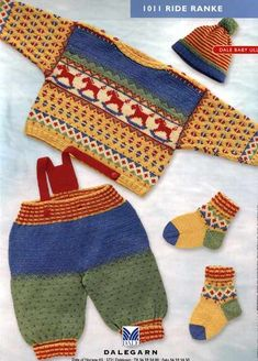 Allegro Yarns - Dale of Norway Kits - 1011 Rocking Horse Knitting Patterns Boys, Kids Patterns, Knitting For Kids, Knitting Yarn, Knitted Jackets Women, Filet Crochet Charts, Toddler Sweater, Crochet Baby Clothes, Baby Cardigan