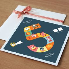 Board Game Invitation - 5th Birthday on Etsy, $15.00