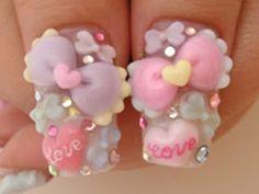 All Things Kawaii and Trendy in Japan: Kawaii Nails