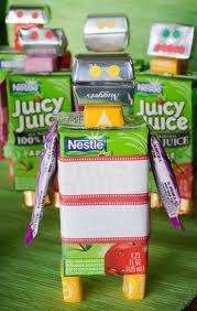 Edible robots. Cute idea for a party.