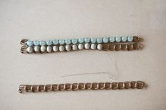How To Make A Pretty & Unique Ombre Bead & Chain Bracelet Like This One | Fab You Bliss
