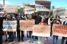 IntermedioenRD: Docentes de Bellas Artes marchan por mejores condi...