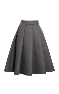 Pleated Bonded-Neoprene Wool-Blend Skirt by J.W. Anderson Now Available on Moda Operandi